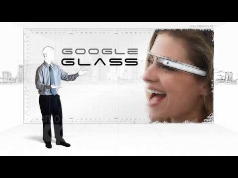 Wearable computing. The Google glass.
