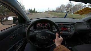 2010 Kia Rio 1.4l Pov Test Drive