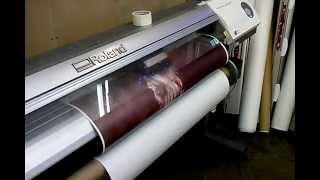 видео интерьерная печать