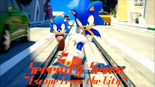 Serenity Seven- Escape From the City (Sonic the Hedgehog Tribute Cover)