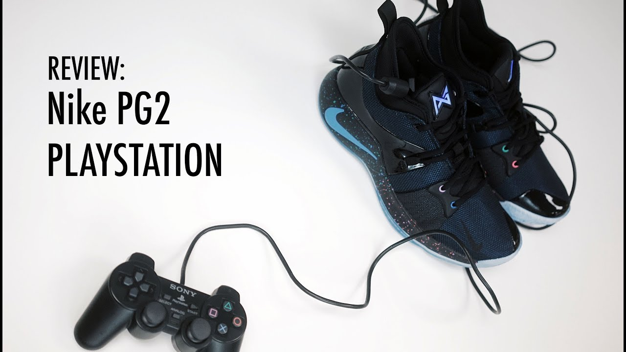 hot sale online 96b34 8deae NIKE PG2 PLAYSTATION - REVIEW and DETAILED LOOK
