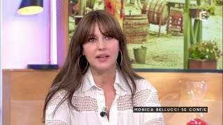 Monica Bellucci se confie - C à vous - 22/06/2017