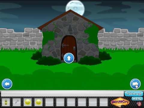 Creepy Graveyard Escape Walkthrough Mousecity Youtube