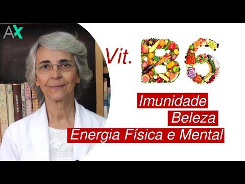 VITAMINA B6 - Imunidade, Beleza, Energia Física e Mental