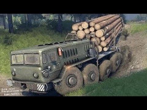 Extreme Trucks Tatra Driving Off Road - Amazing Truck stuck in Mud - Heavy Equipment Machine Working