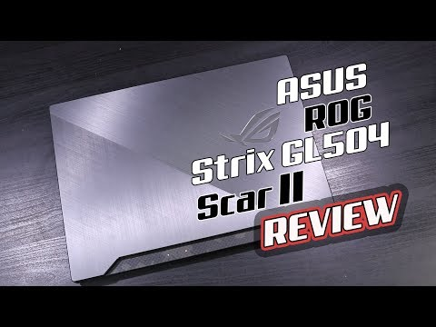 Review – ASUS ROG Strix GL504 Scar II ไปให้สุดของสาย FPS ด้วย i7 + GTX1070 จอ 144Hz