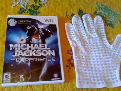 Unboxing Michael Jackson The Experience Game With Special Edition Glove