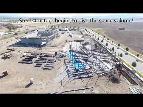 Selkirk MIddle School Construction Progress  November 2018