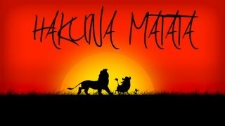 Le Roi Lion - The Lion King Hakuna Matata FRENCH