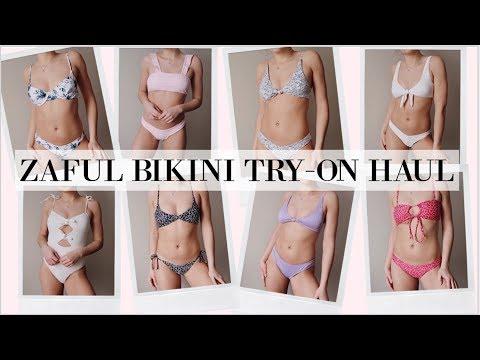 Zaful Try On Bikini Haul 2019