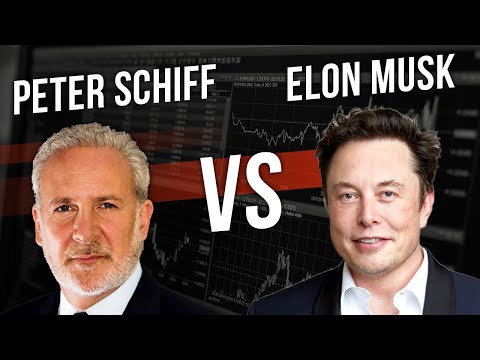 Peter Schiff Vs Elon Musk | Gold Vs Bitcoin