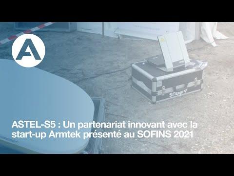 ASTEL-S5: Un partenariat innovant avec la start-up Armtek présenté au SOFINS 2021