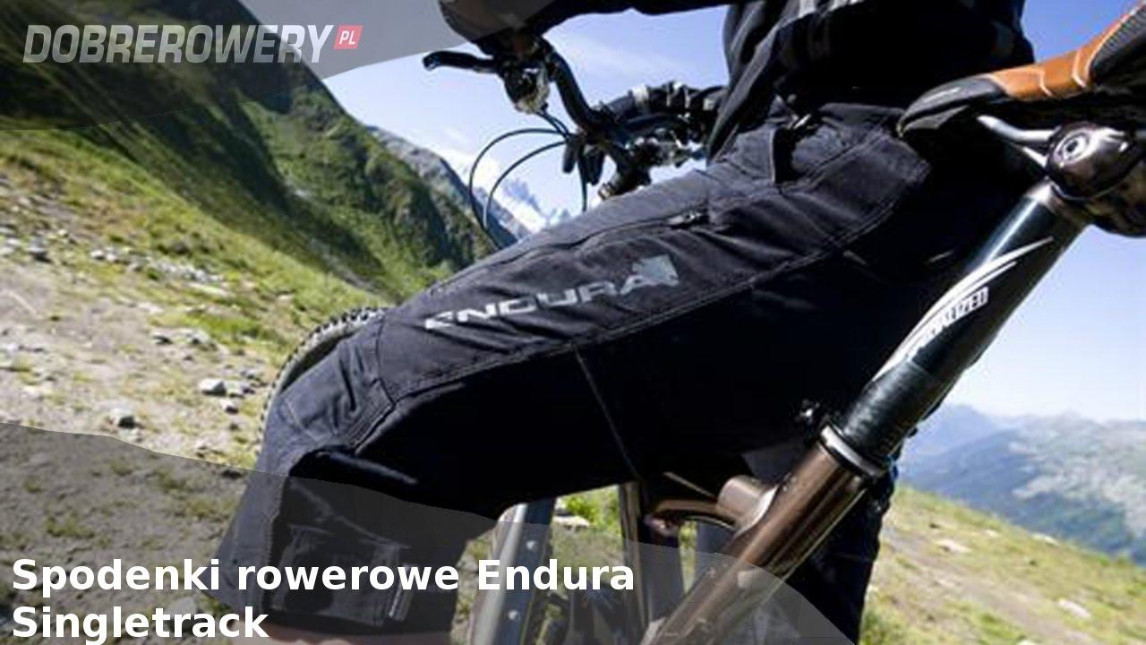 Recenzja: Spodenki rowerowe Endura Singletrack II, III oraz