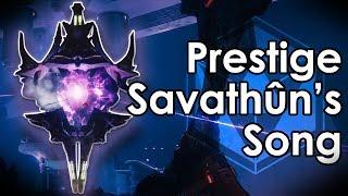 Destiny 2 Prestige Nightfall Anomaly Guide - Savathuns Song