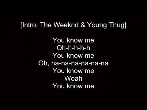 The Weeknd - Reminder ft.  A$AP Rocky & Young Thug [Remix] - Lyrics