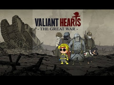 Valiant Hearts: The Great War (CAPITULO 1) UN COMIENZO TRISTE