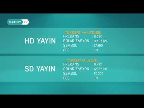 Diyanet TV Frekansımız Yenilendi...