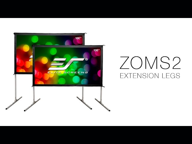 ZOMS2 Extension Legs for Elite Screens' YardMaster II Outdoor Projection Screen