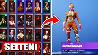 Fortnite SEASON 1 Gingerbread and Nutcracker Skins get from ZUSCHAUER! - Fortnite Battle Royale