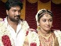 Vijay TV Saravanan Meenakshi Fame Mirchi Senthil and Sreeja married Secretly in Tirupati!