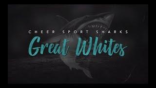 Cheersport Sharks Great Whites 2018-19