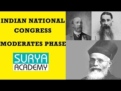 TNPSC Group 1 Modern India Indian   National Congress   Introduction   Moderates Phase