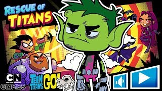 Teen Titans Go! - Rescue of Titans - Can