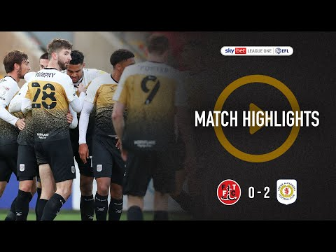 Fleetwood Town Crewe Goals And Highlights