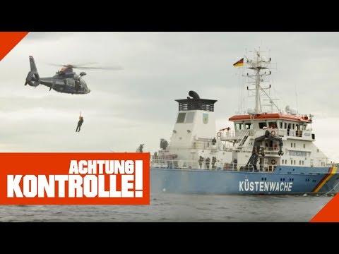 Hubschraubereinsatz bei der Küstenwache: Was ist passiert?   Achtung Kontrolle   kabel eins