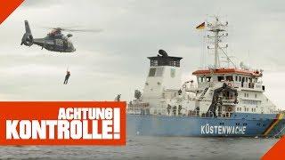 Hubschraubereinsatz bei der Küstenwache: Was ist passiert? | Achtung Kontrolle | kabel eins