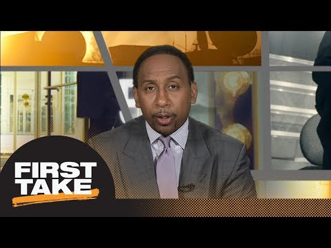 Stephen A. Smith reveals his problem with Wizards locker room | First Take | ESPN
