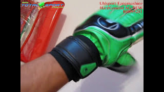 Вратарские перчатки Uhlsport Fangmashine HardGround unpacking(, 2012-10-29T10:37:51.000Z)