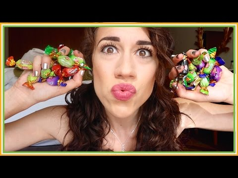 AMERICAN TRIES IRISH CANDY!