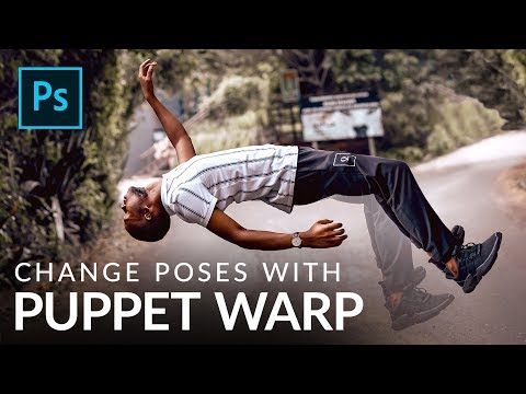 Change Poses With The Puppet Warp Tool In Photoshop