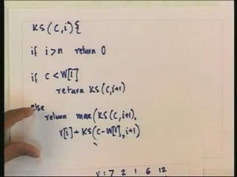 Lecture -18 Dynamic Programming