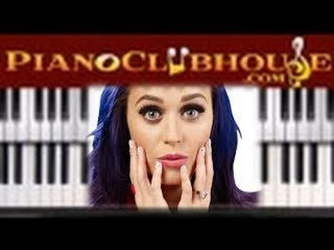 how to play katy perry songs on piano