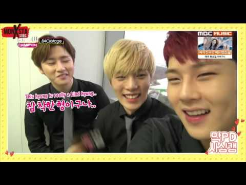 [ENG] 151121 Show Champion Backstage