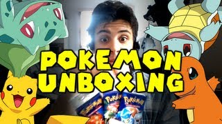 Chilled Unboxes Pokemon Cards (3 Original Booster Packs)