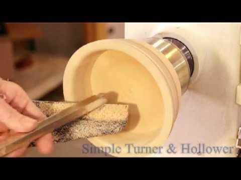 Simple Wood Turning Tools Demonstrated.avi