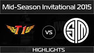 [Highlights] SKT vs TSM | SK Telecom T1 vs Team SoloMid (07.05.2015) [MSI 2015]