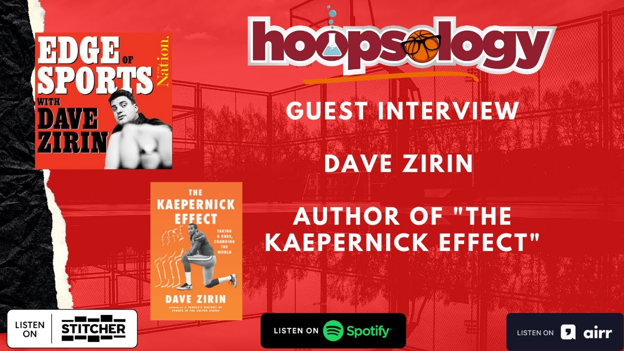 """Author of """"The Kaepernick Effect"""" Dave Zirin on Player Activism and the Washington Wizards"""