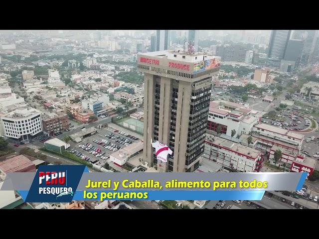 PROGRAMA PERUPESQUERO TV: Jurel y Caballa, alimento para todos los peruanos