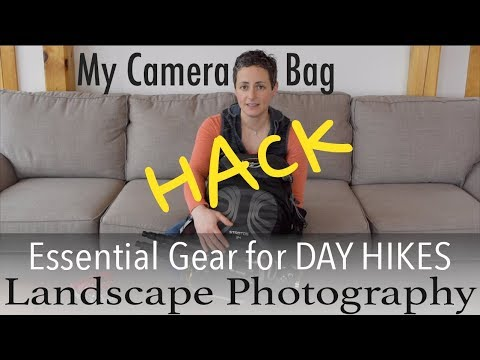 Camera Bag Hack | Essential Gear For Day Hikes