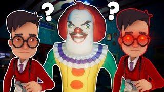 The Clown Neighbor is One of Us! - Secret Neighbor Multiplayer Hide and Seek