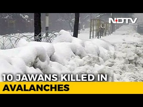 10 Soldiers Killed As Avalanches Hit Army Post And Patrol In Kashmir's Gurez