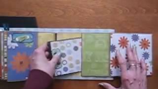 Pet Dog Scrapbook Paper Bag Mini Album