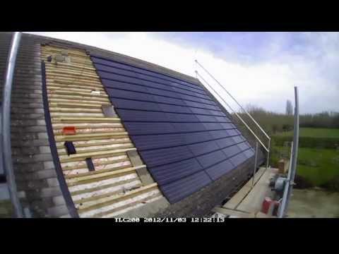 C21 Solar PV tile install