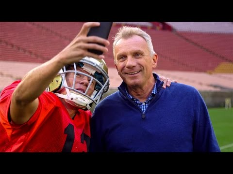 """Joe Montana in Bay Area or Bust - Chapter 2 - The """"Selfie Tour"""" with Tyler Ward"""