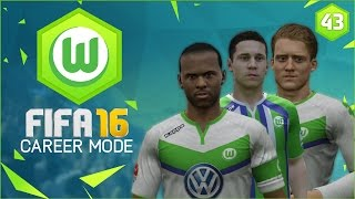 FIFA 16 | Wolfsburg Career Mode Ep43 - CHAMPIONS LEAGUE KNOCKOUTS!!
