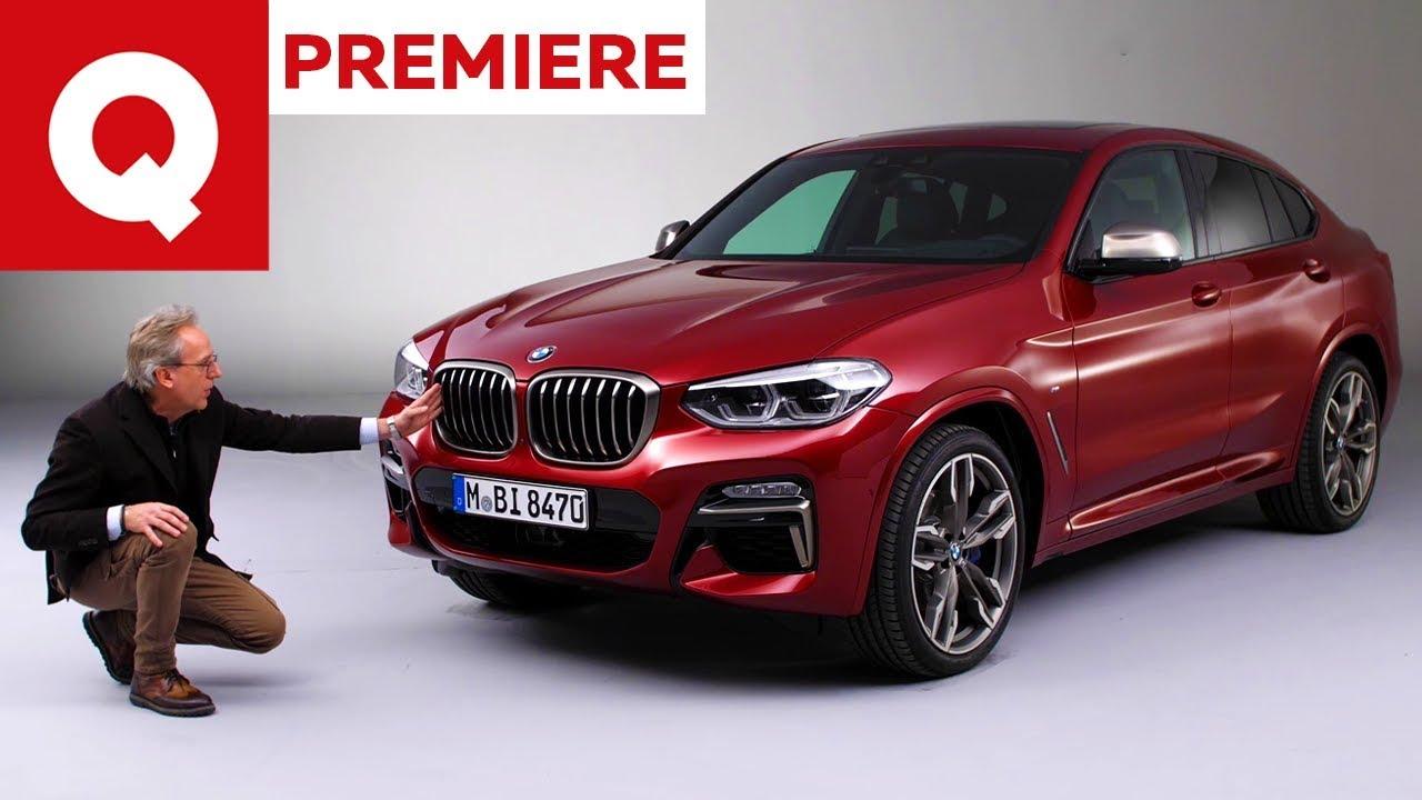 La nuova BMW X4 in anteprima assoluta   Quattroruote - YouTube